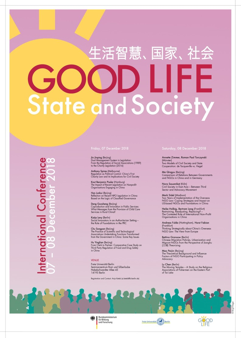 Plakat_Good life, state and society